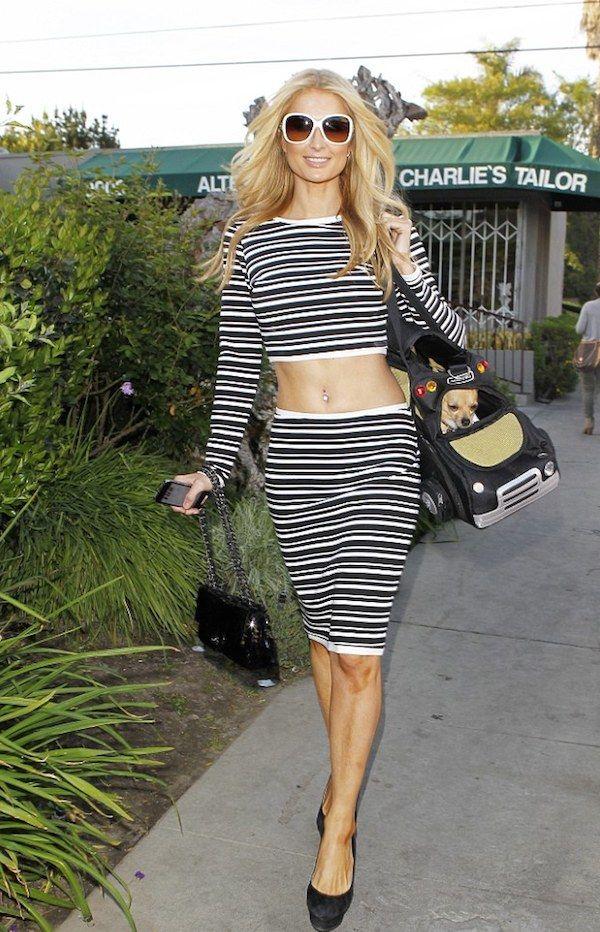 dbff45cef63 Striped Crop Top and Matching Skirt Sets Crop Top Set, Hilton Hotels,  Striped Crop