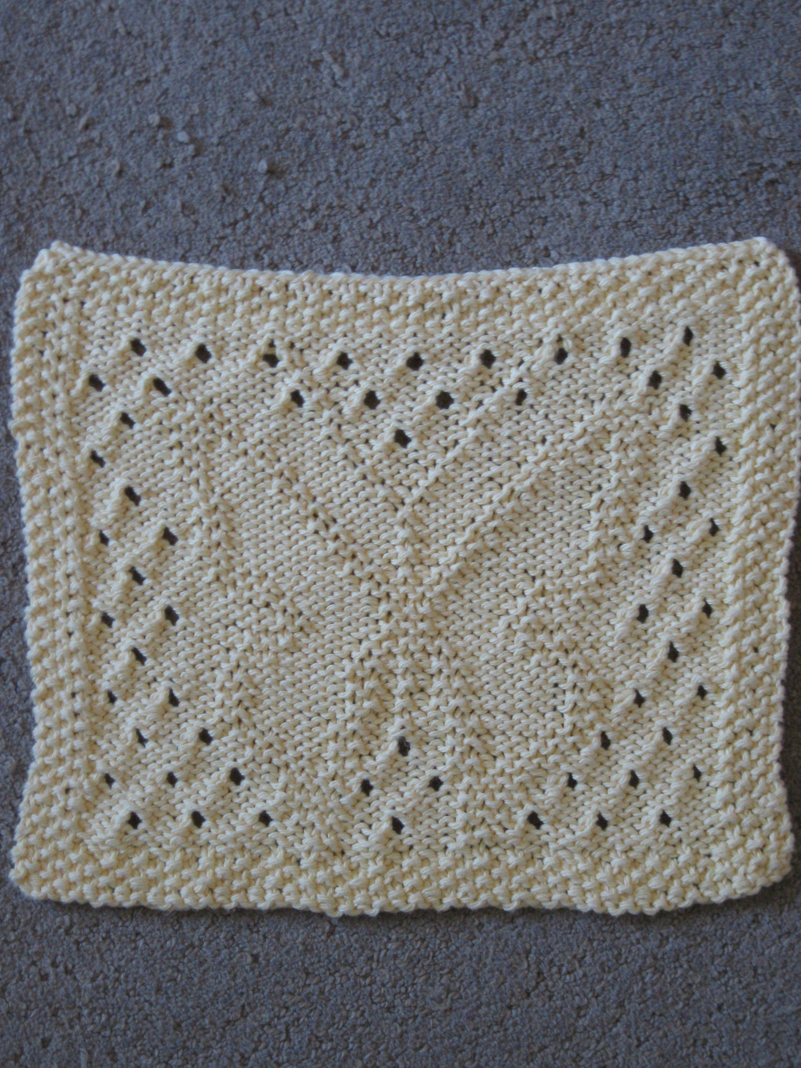 Knitted butterfly dishcloth | Knit dishcloth, Rugs, Bath mat