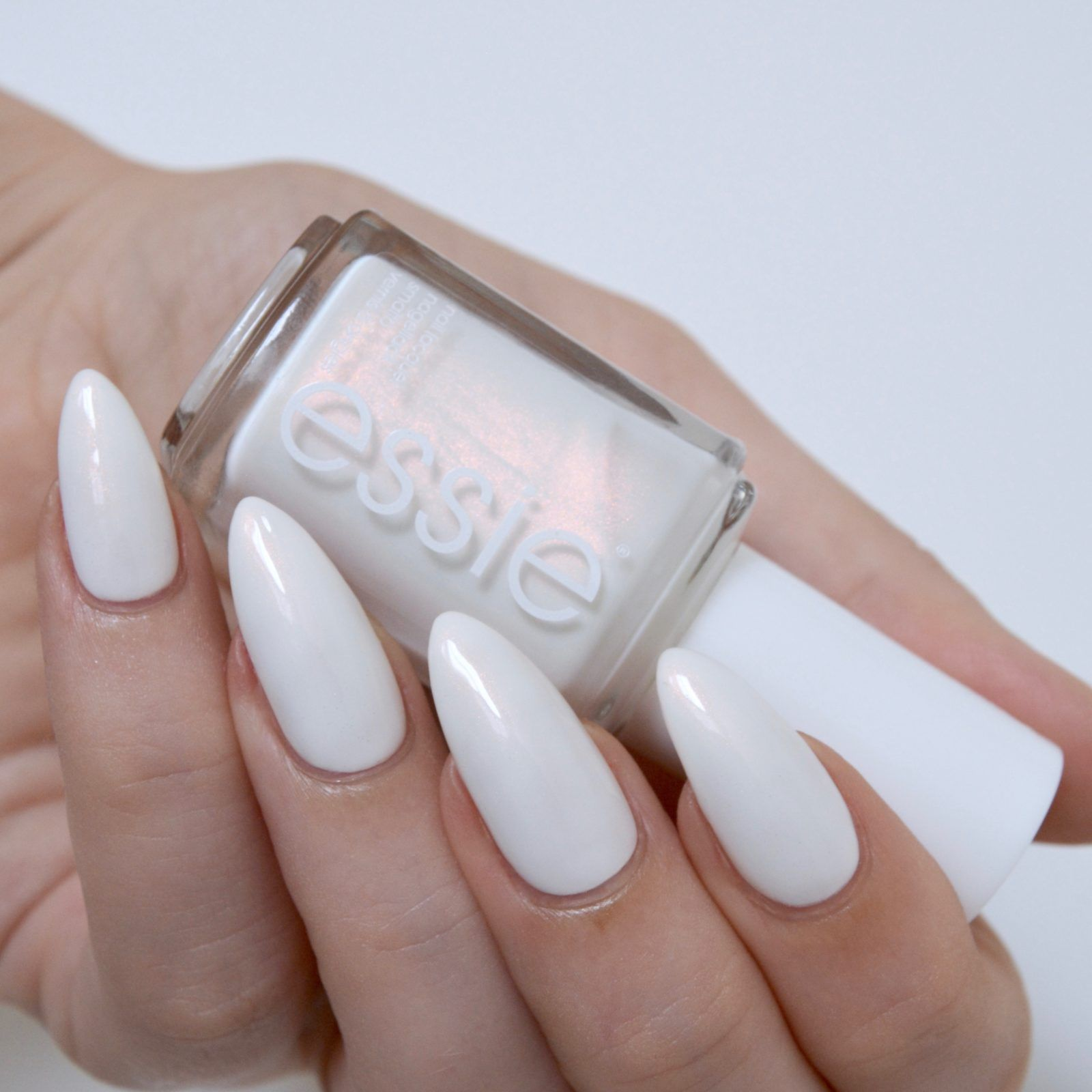 Essie Pearly White Nail Polish | Hession Hairdressing