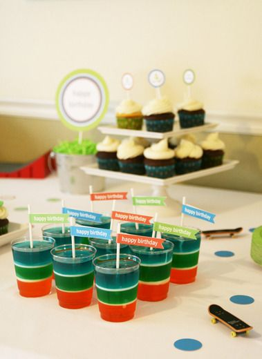 """Twins Subway surfer party ideas -Skateboarding / Birthday """"Skateboarding Party for my skater dude!""""   Catch My Party"""