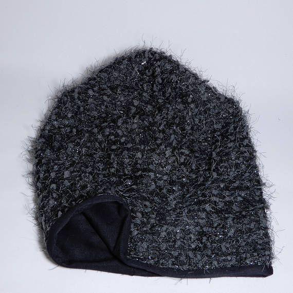 da28a63b5cb Beanie hat women Slouchy beanie viscose lined Boho hat
