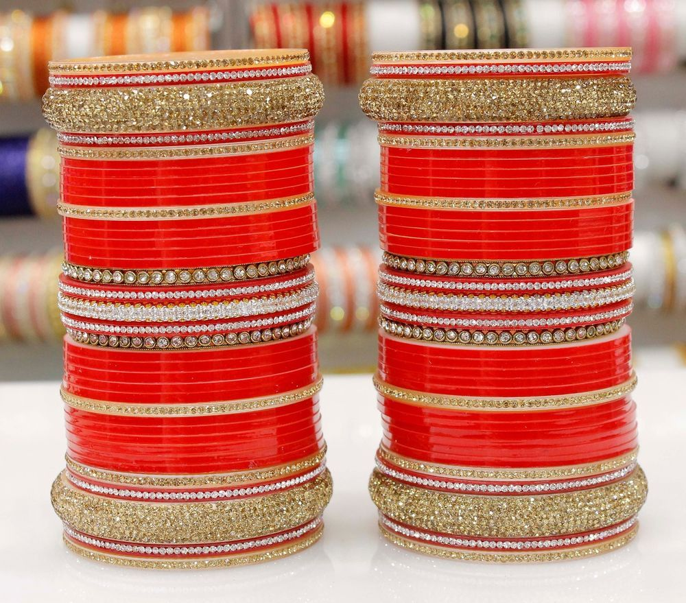 Jewelry & Watches Bollywood Dhulhan Red Colour Chuda Set Indian Tradition Wedding Chuda Bangles