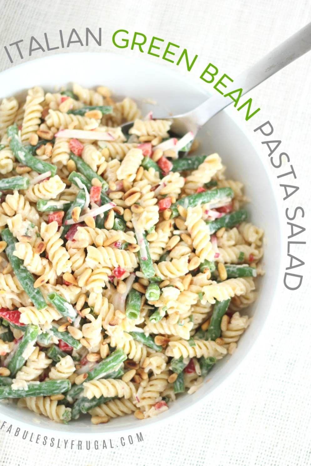 Italian green bean pasta salad recipe in 2020 pasta