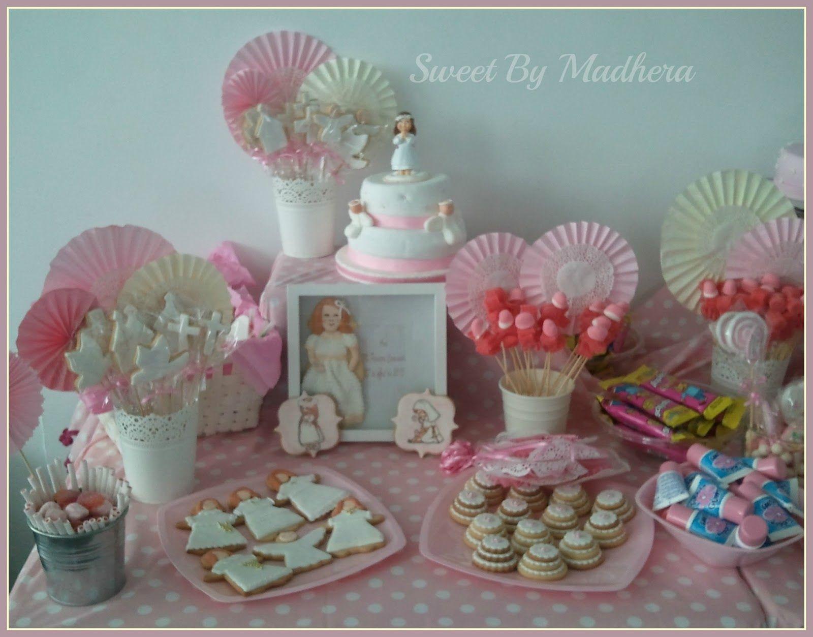 Mesas dulces para comunion buscar con google mesas for Mesa dulce para comunion