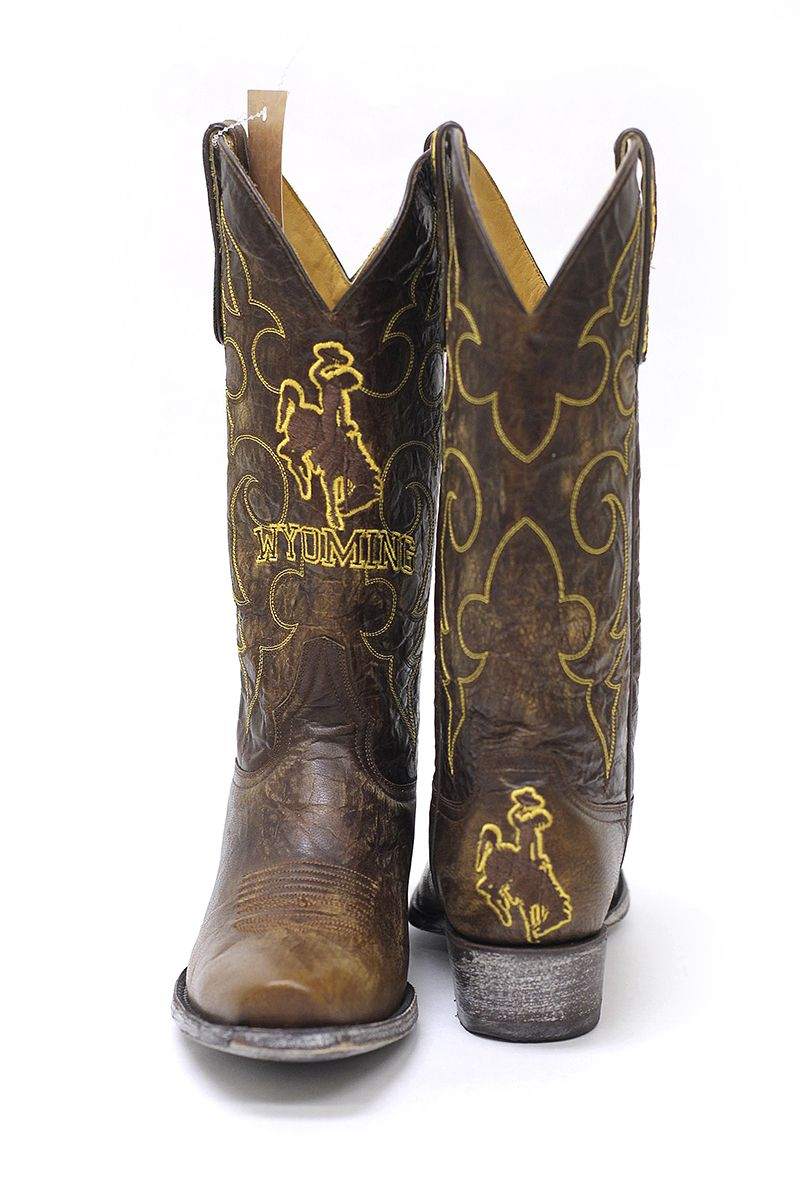 3f4b99006ae Wyoming Cowboys Boots | University of Wyoming Store | ✎ College ...