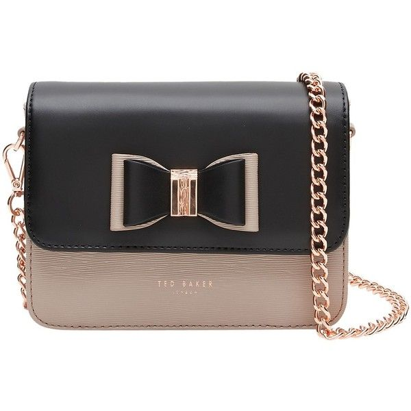 Ted Baker Camilah Leather Across Body Bag Mink 5 705 Rub Liked On