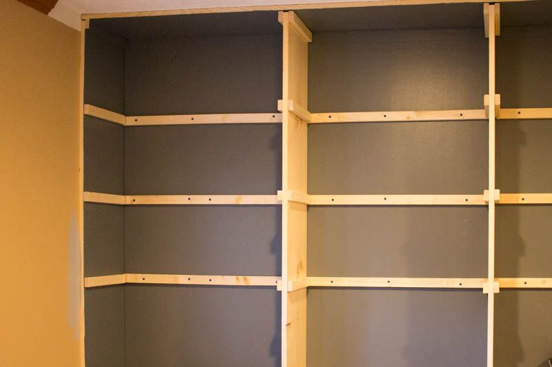 The Affordable Way To Build Built In Bookshelves Bookshelves
