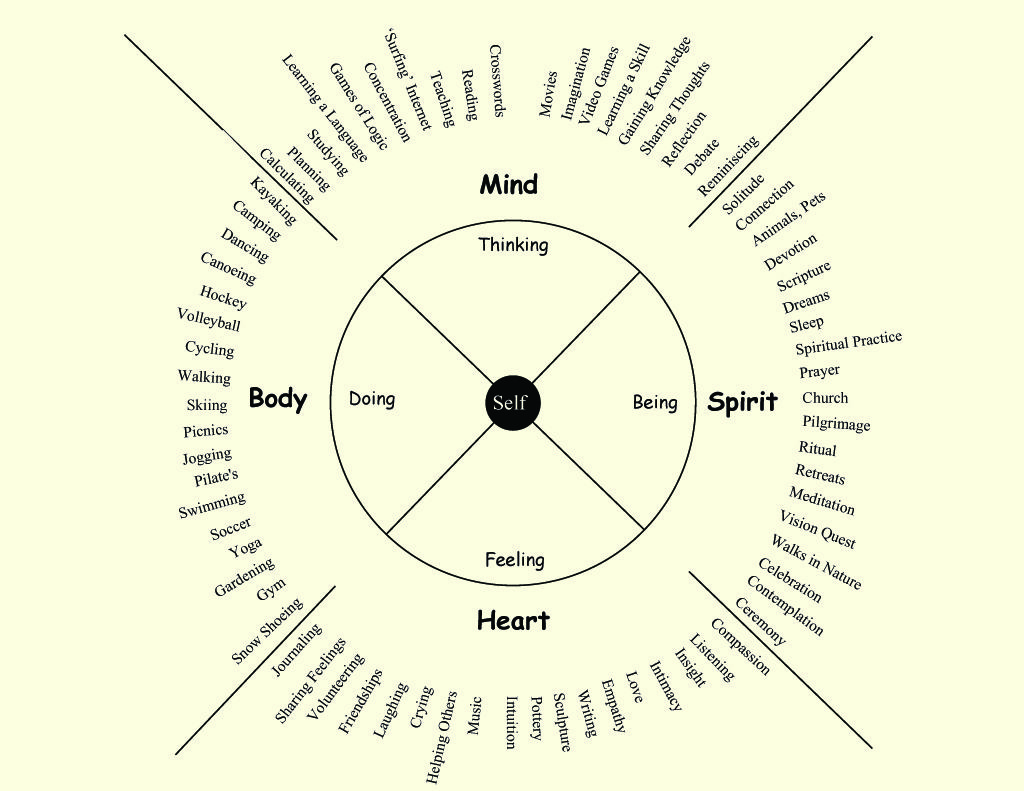 Holistic Wellness Wheel  Thewellness Wheel  A Model Of Self Care