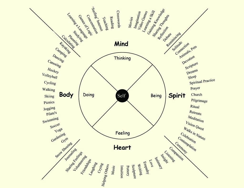 Holistic Wellness Wheel