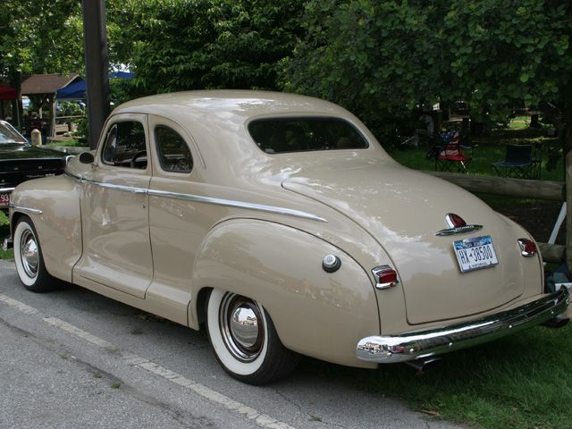 1946 plymouth deluxe club coupe chrysler mopar for 1946 plymouth special deluxe 4 door