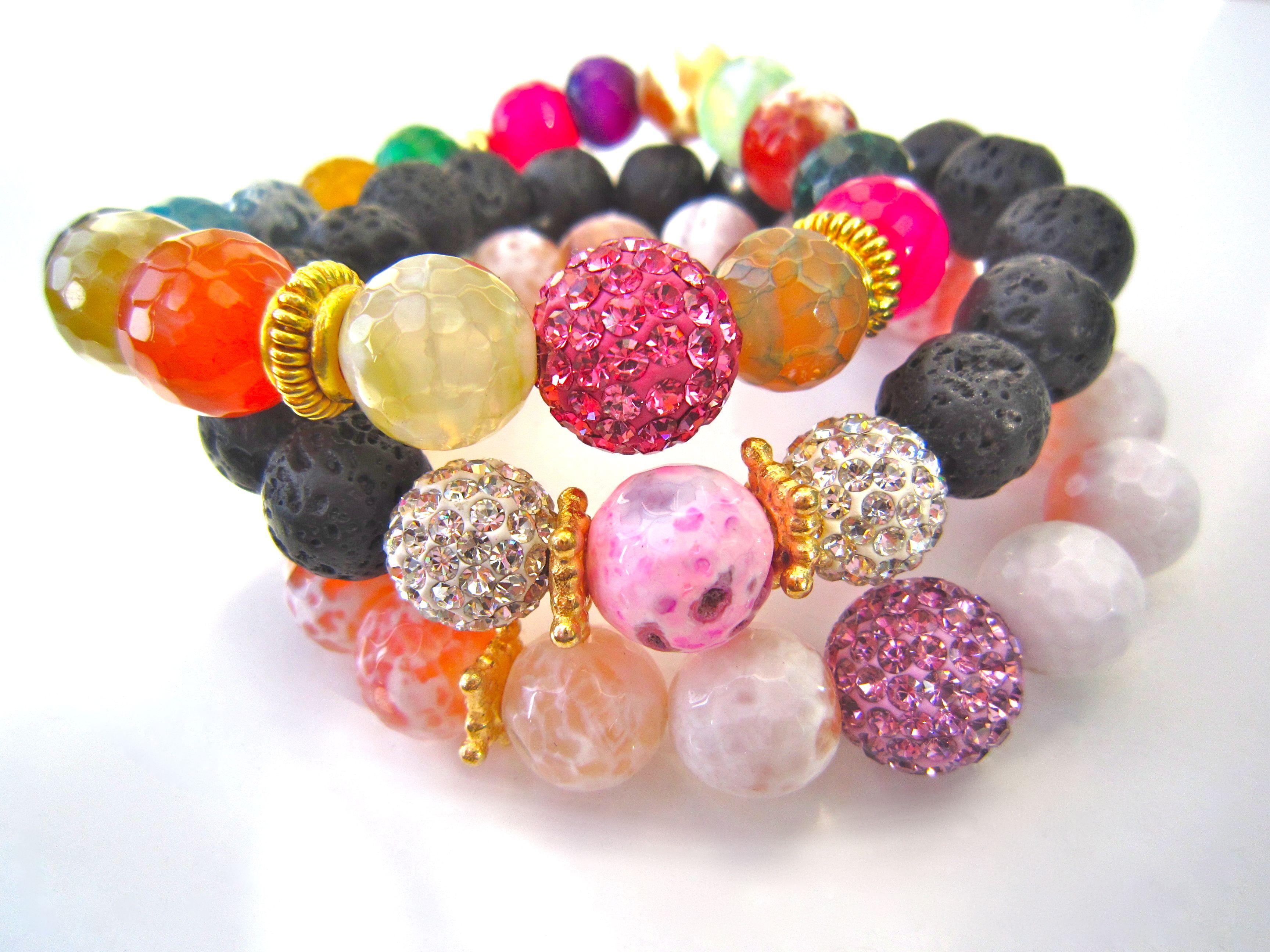 Jewels by ashleymarie springsummer bracelet pink set orders