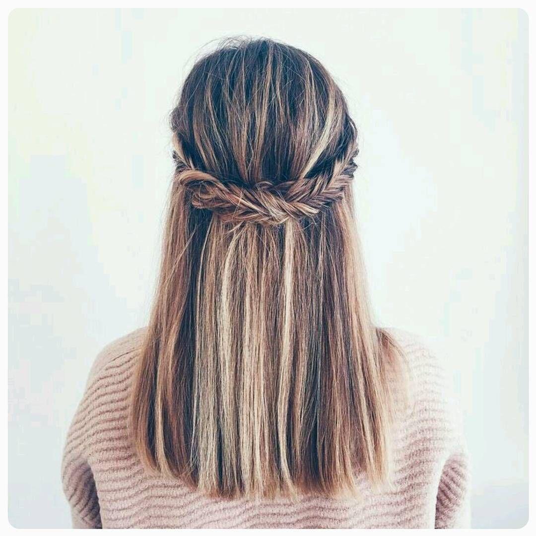 Half up half down wedding hairstyle hair pinterest hair style