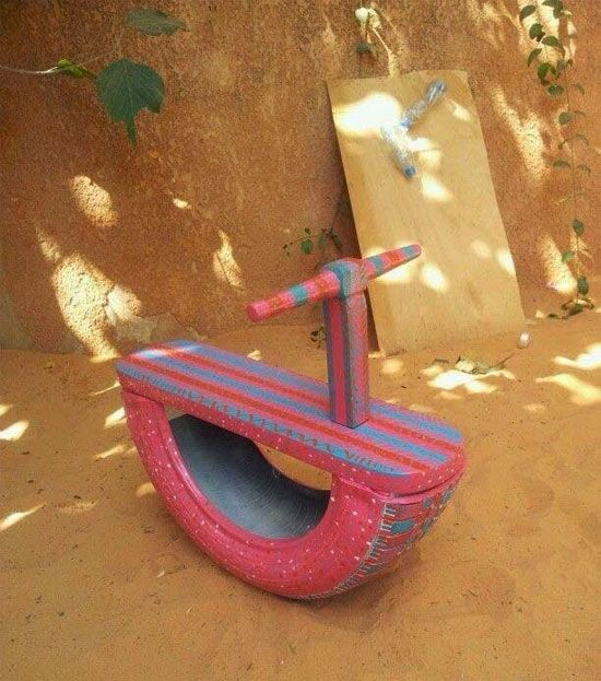 ideias de brinquedos com sucata diy crafts basteln autoreifen e spielzeug. Black Bedroom Furniture Sets. Home Design Ideas