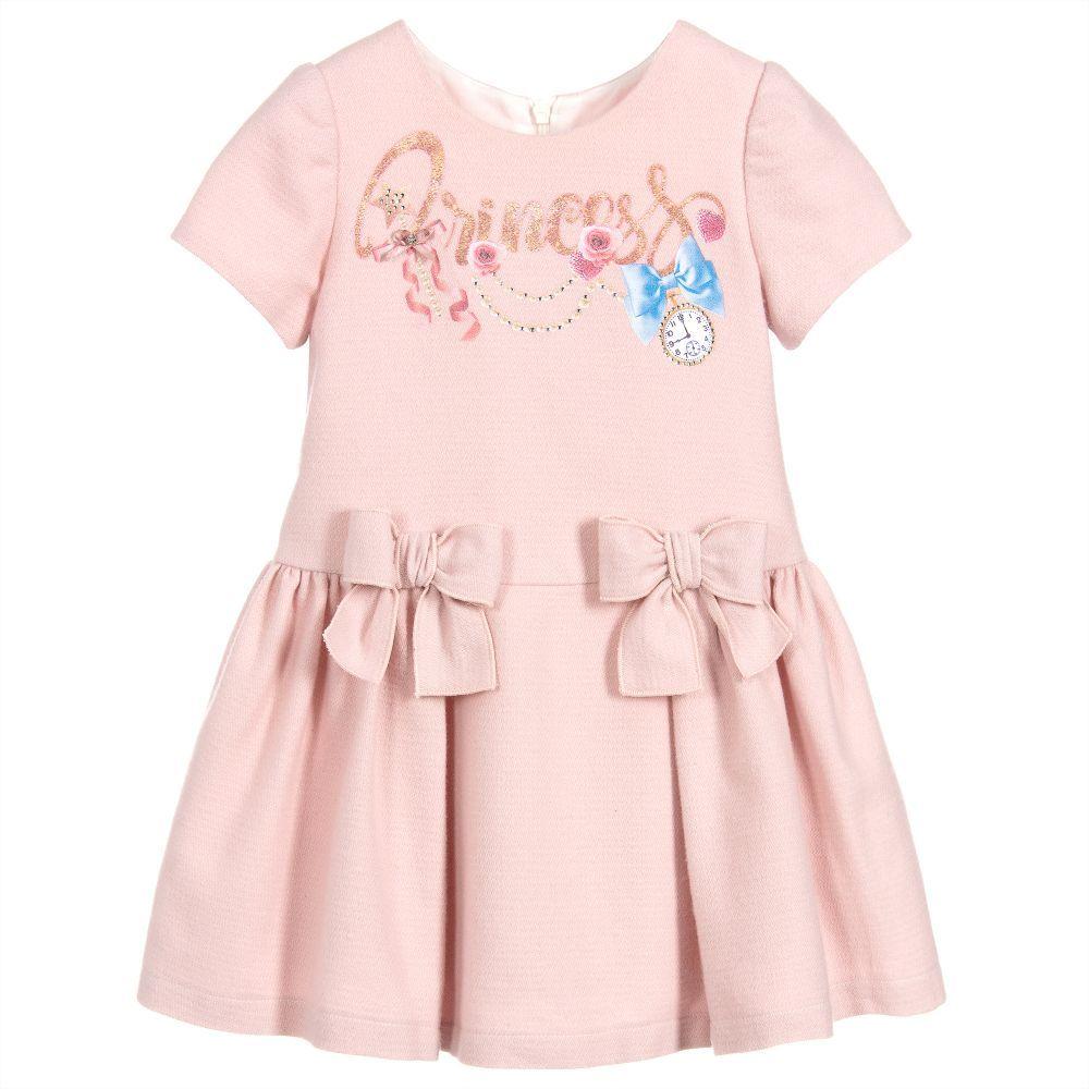 ce98f27833 Girls pink dress by Balloon Chic
