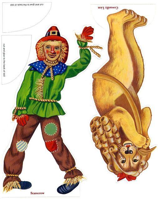 El Cascanueces Hercules Paper Toy Personajes Mago De Oz Y Marionetas De Papel