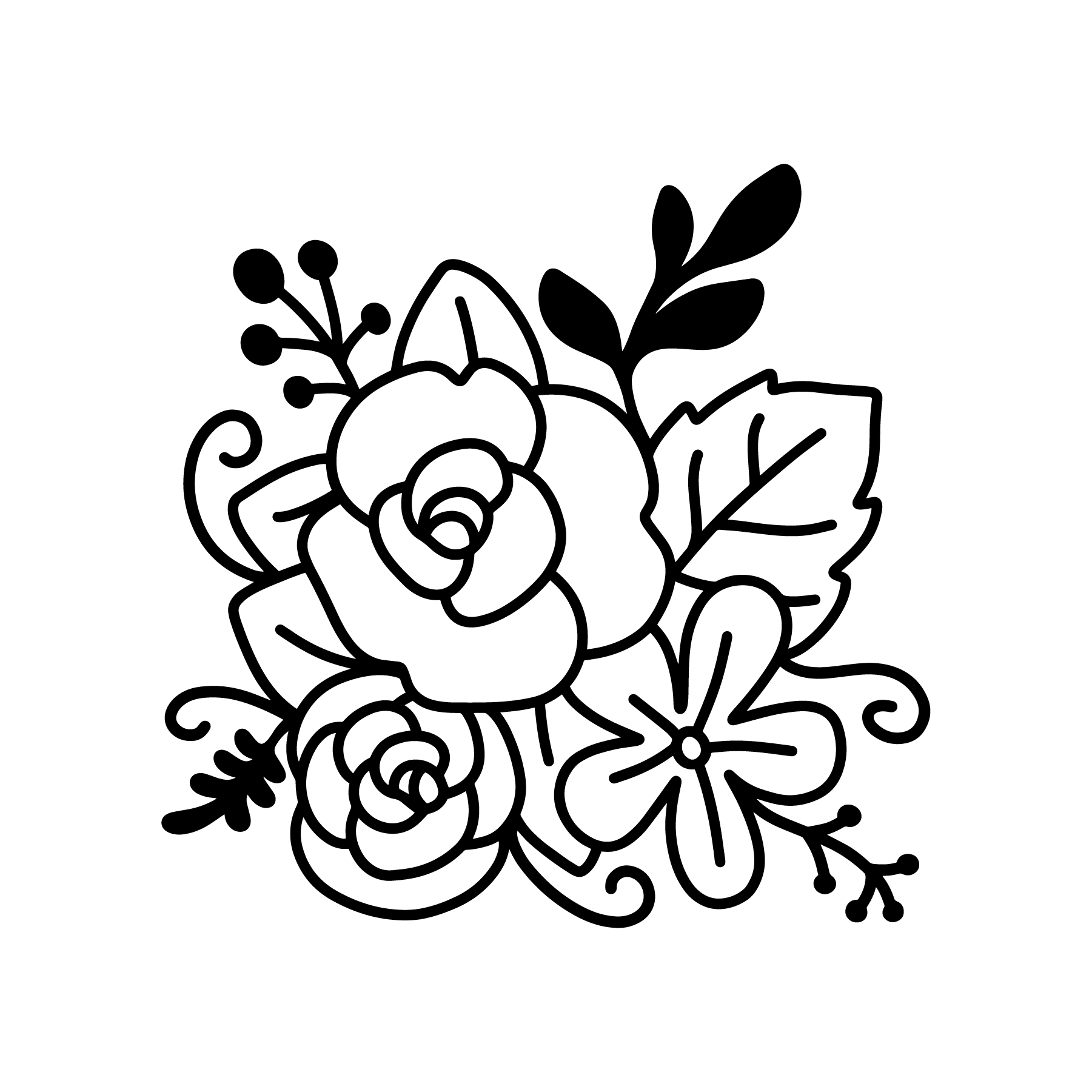 Pin by Sherry Bradley on Cricut Flower svg files, Flower