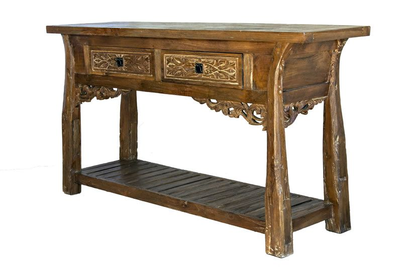 Handcarved Console 2 | Bali Style Antique Furniture