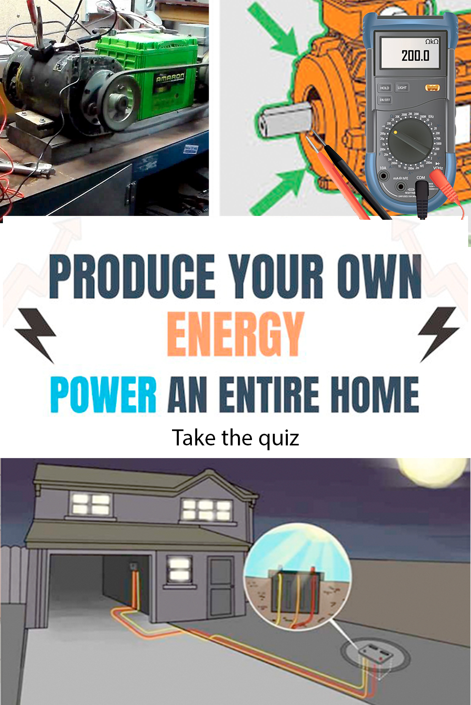 Easily Create Your Own Energy For The Home Free Energy Generator Diy Home Repair Diy Electrical