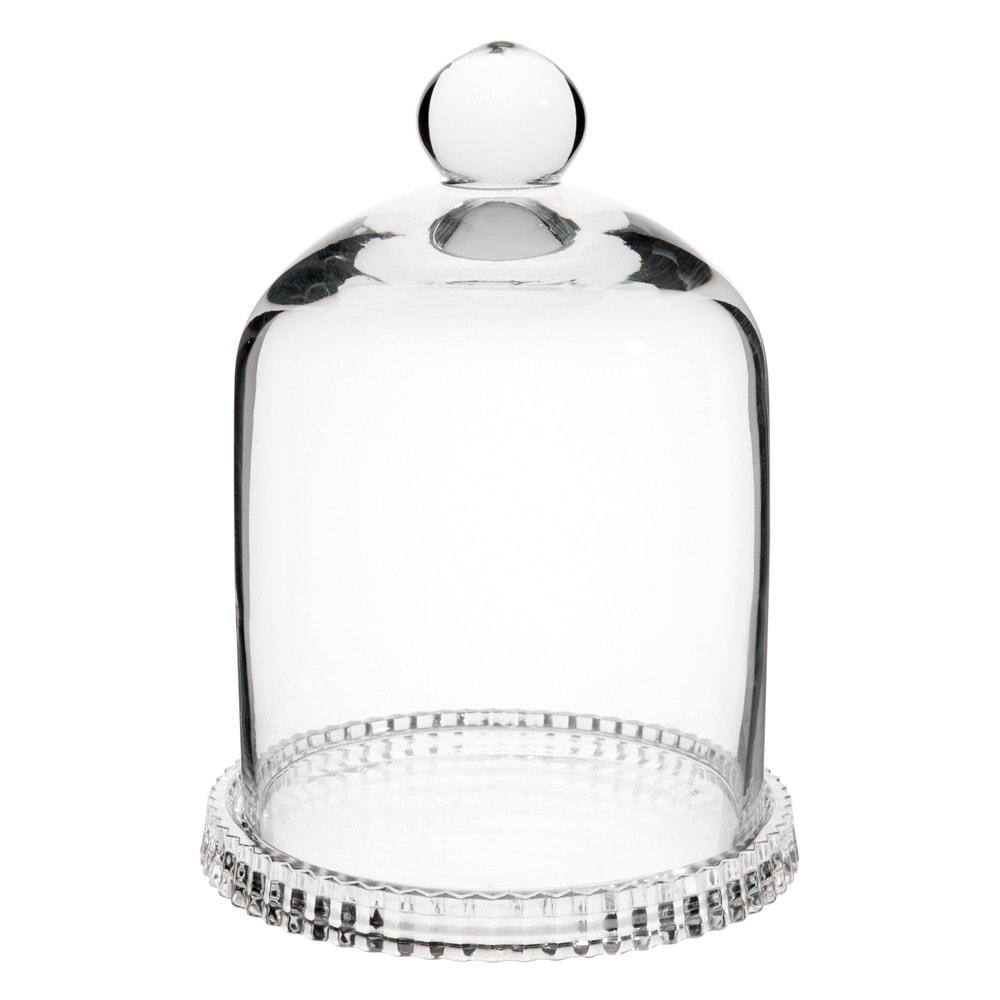 Cloche en verre H 16 cm   Noël White   Campanas de cristal, Vidrio