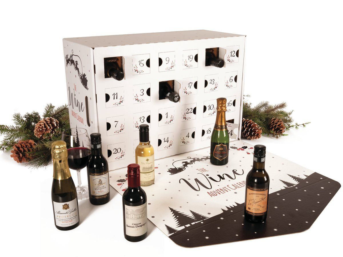 This Boozy Wine Advent Calendar Will Put You In The Holiday Spirit