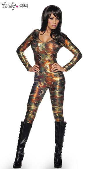 27a001b47a6 Camouflage catsuit camo bodysuit army costume military costume womens camo  clothing jpg 325x585 Camo catsuit