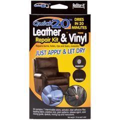 Quick 20 Leather Vinyl Repair Kit Kmart Vinyl Repair Leather Repair Leather Couch Repair