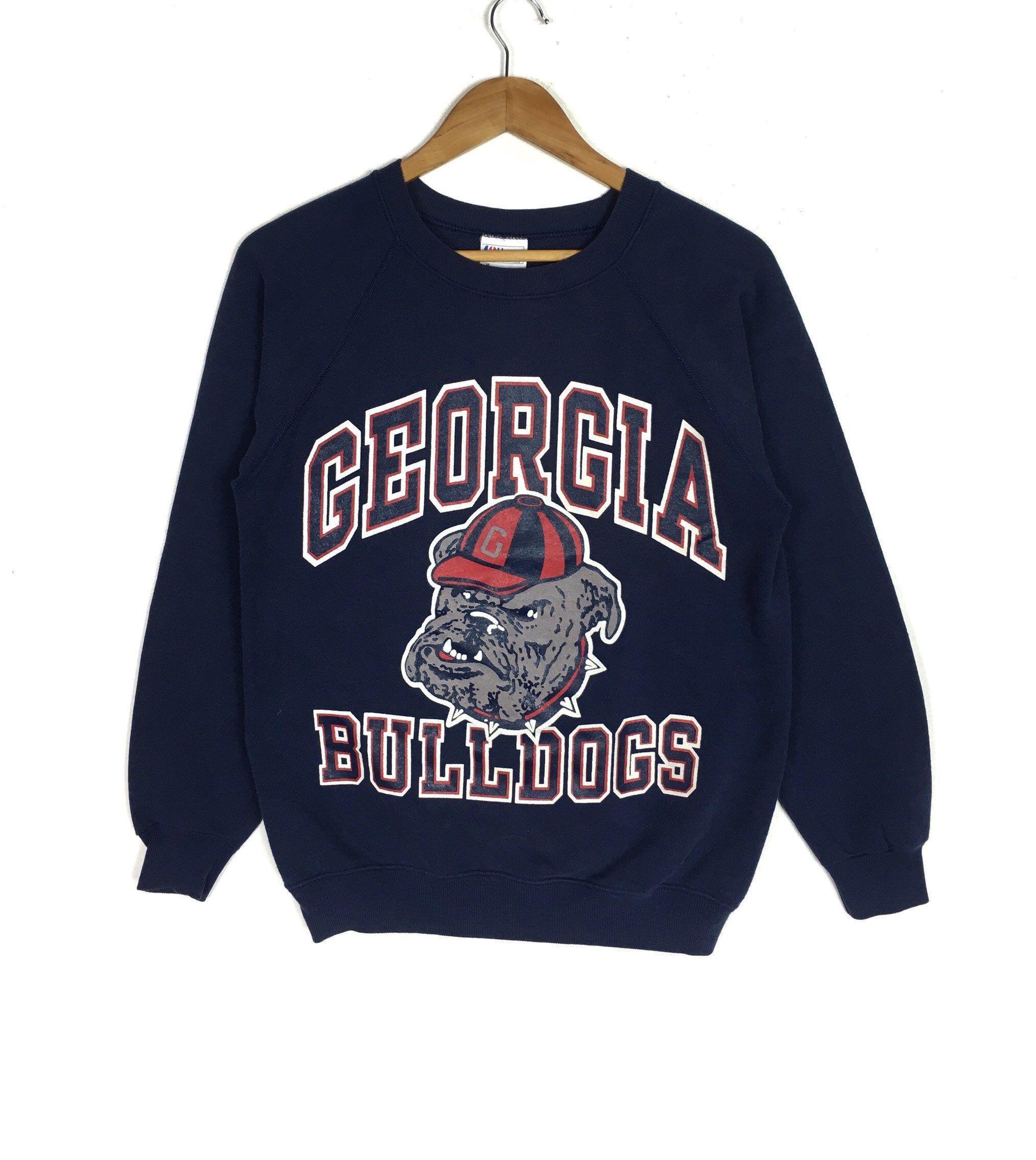 80s Georgia University Sweatshirt Bulldogs M Size Etsy Sweatshirts University Sweatshirts 80s Sport [ 2272 x 2028 Pixel ]