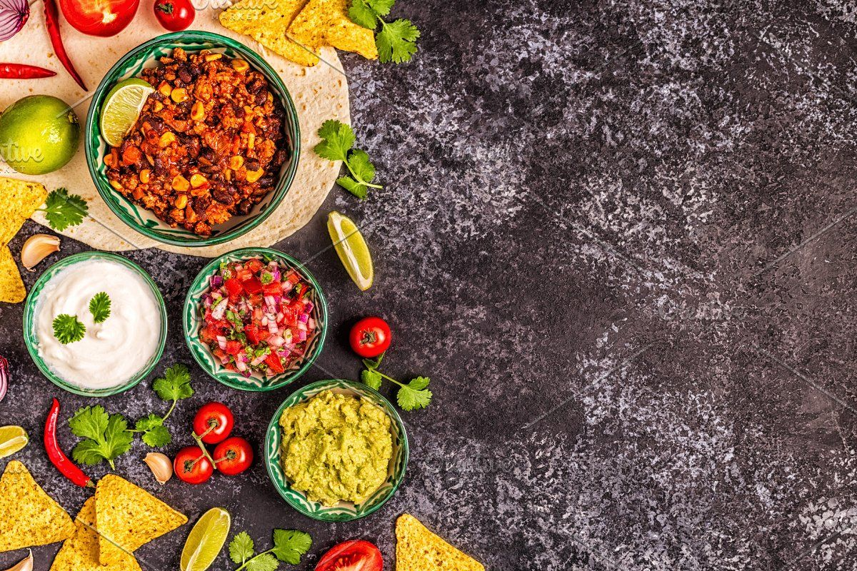 Mexican Food Background Mexican Food Recipes Food Backgrounds Food