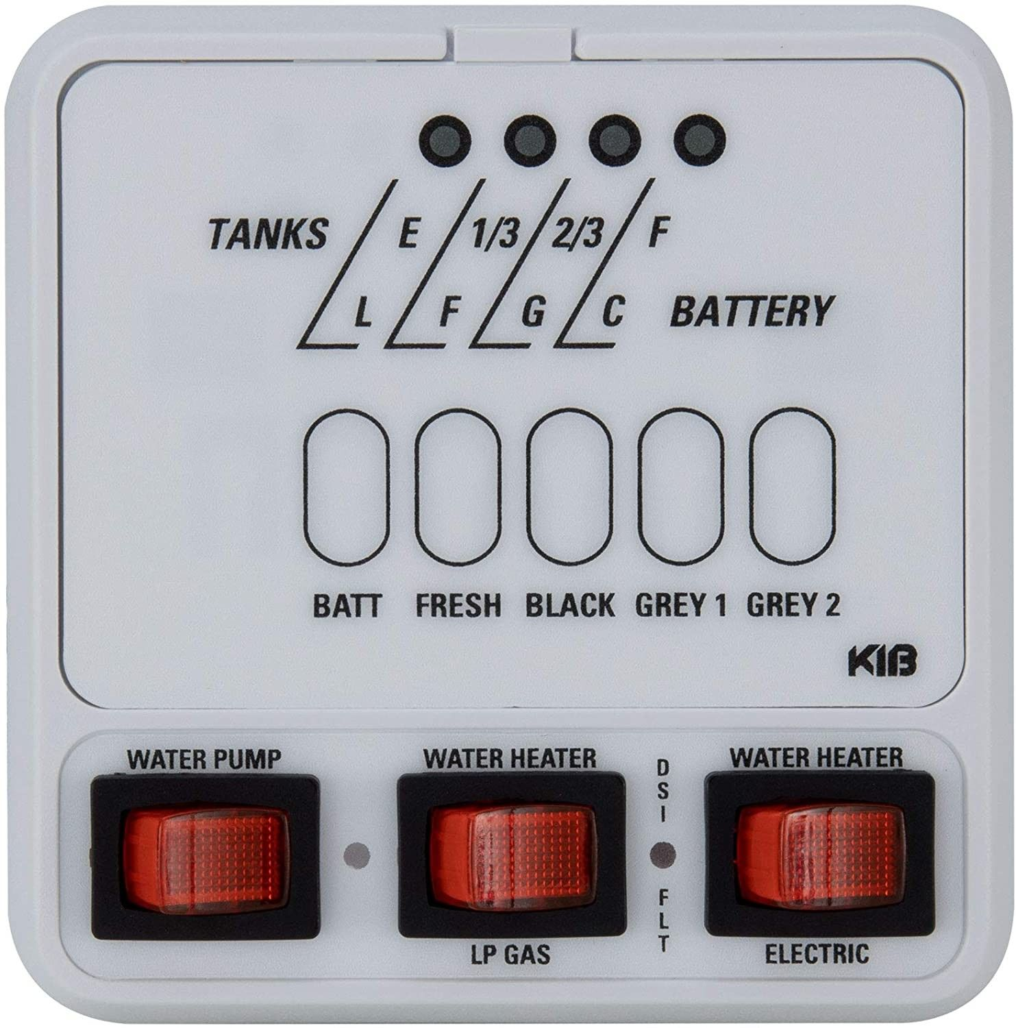 Kib Micro Monitor Panel Instructions In 2020 Monitor Gas And Electric Level Sensor