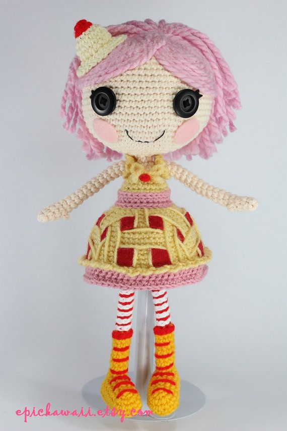 Lalaloopsy Amigurumi Tutorial : THIS CROCHET PATTERN IS A PDF FILE THAT WILL BE AVAILABLE ...