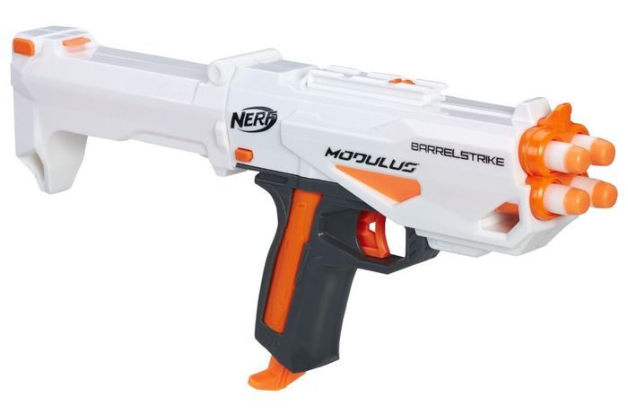 NERF N-STRIKE ELITE ACCUSTRIKE RAPTORSTRIKE Blaster Approx Retail Price:  $49.99/Available: Fall 2017. Hone your skills and hit your mark with the  NERF ...