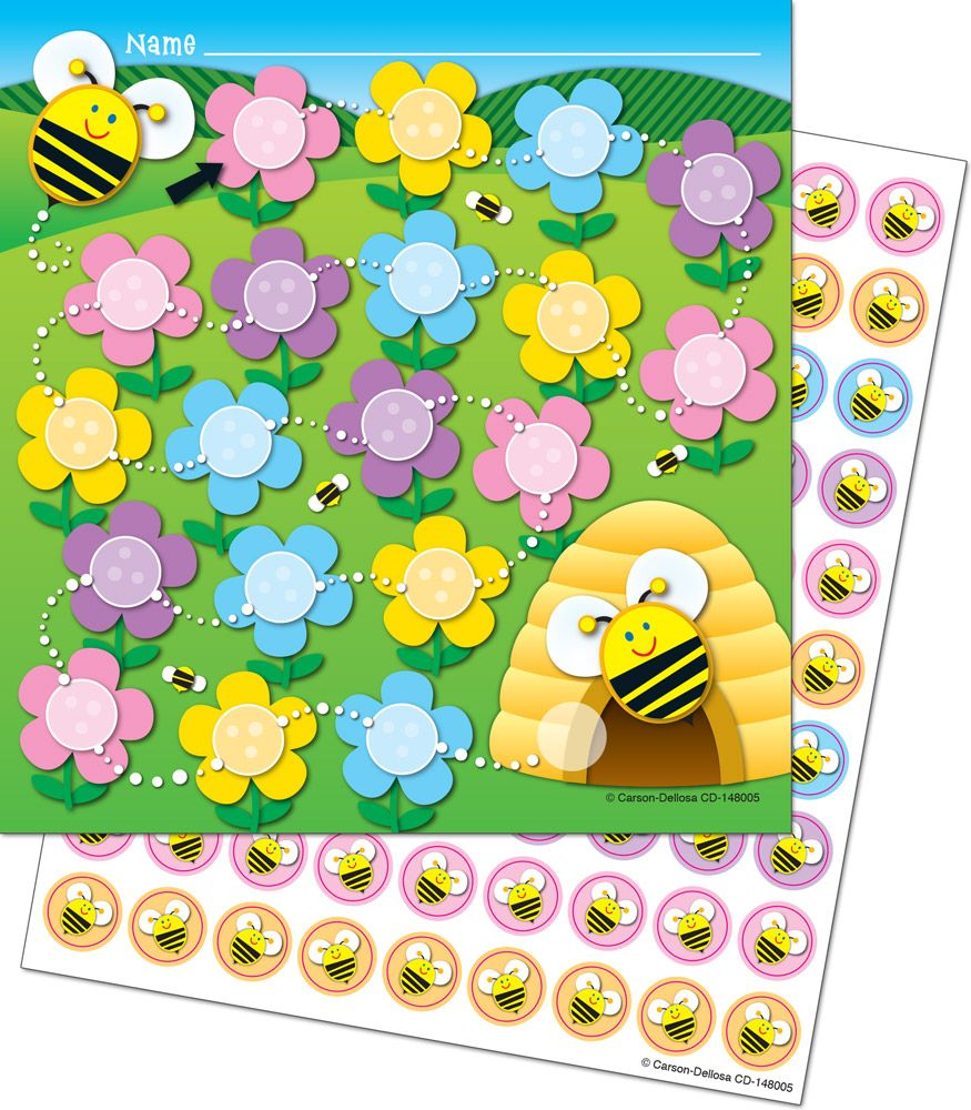 Bee Mini Incentive Charts | Chart, Behavior goals and Class management