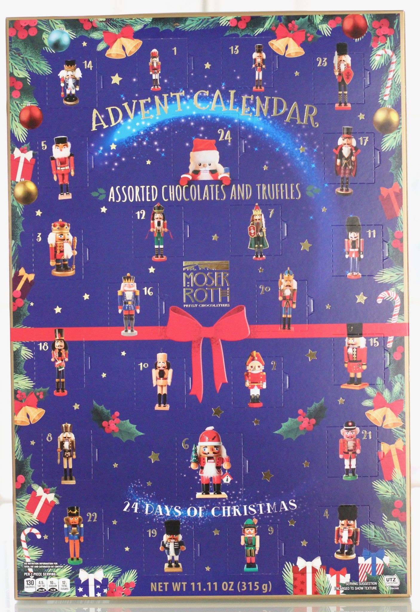 Aldi 2019 Moser Roth Nutcracker Advent Calendar The Homespun Chics Chocolate Calendar Chocolate Assortment Aldi