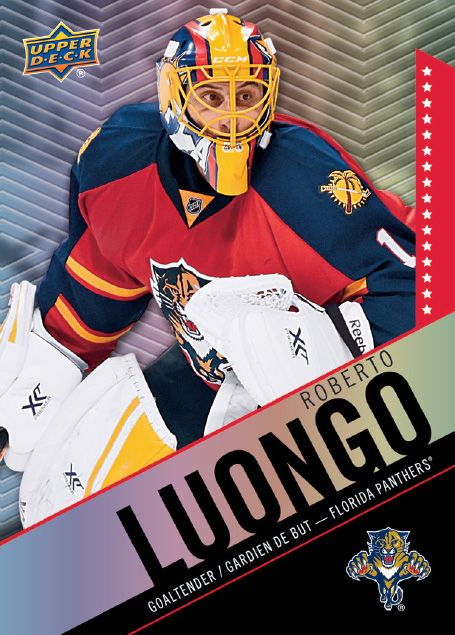 55 Roberto Luongo Netminders Hockey Cards Hockey Goalie Nfl Fans