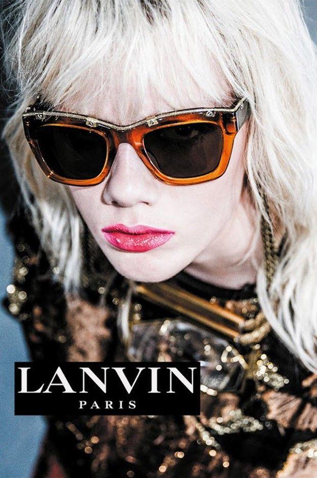 Marjan Jonkman for Lanvin Spring Summer 2016 Eyewear