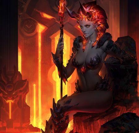 lava woman