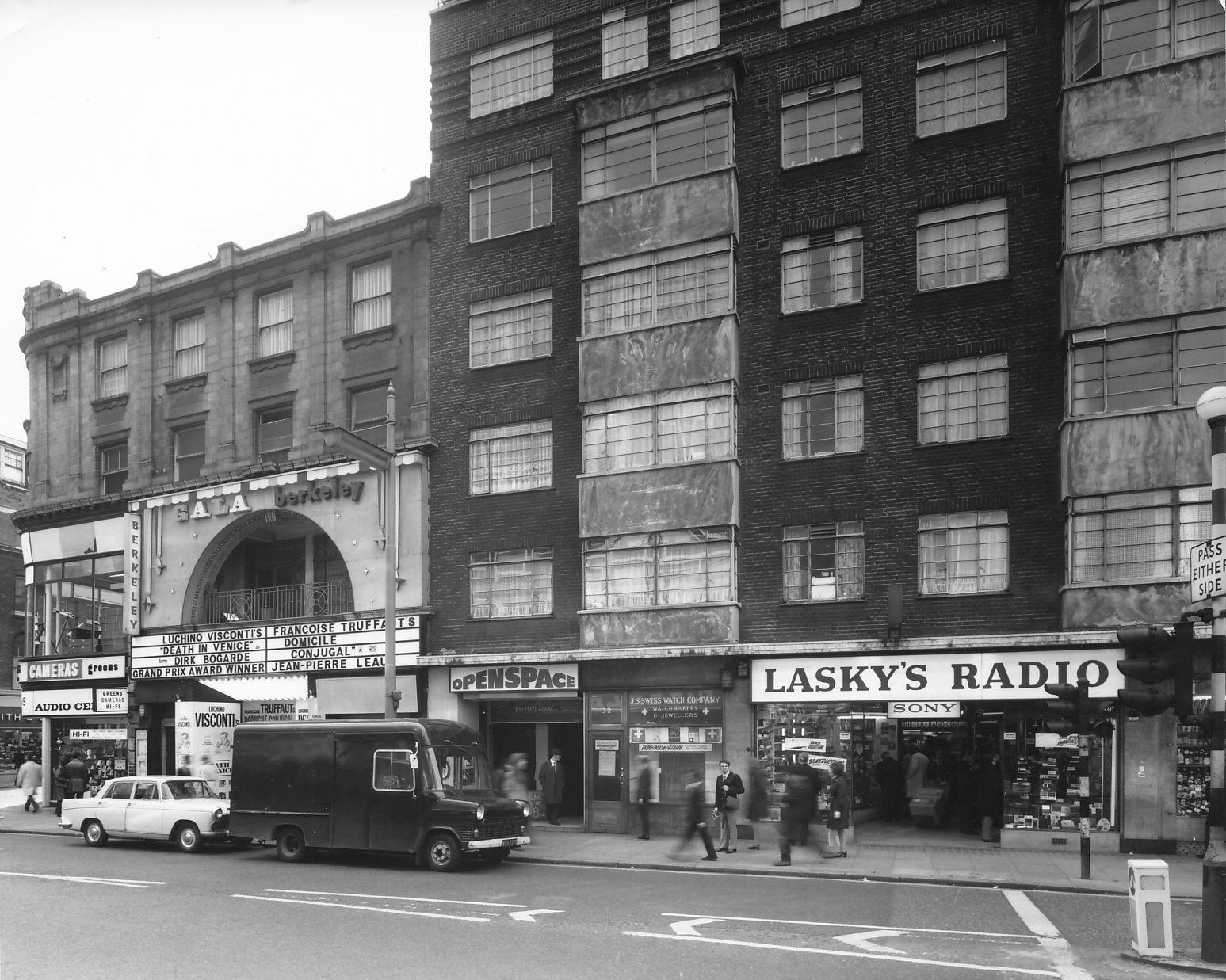 new concept 3afd9 62744 Berkeley Cinema • 30 Tottenham Court Road • 1972