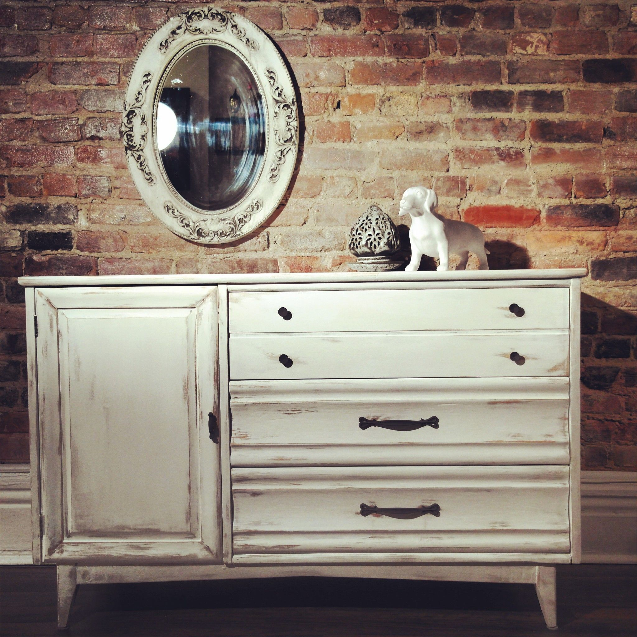 Deco Buffet Salon Buffet Commode Snowhite Rehaussement De Meuble à La
