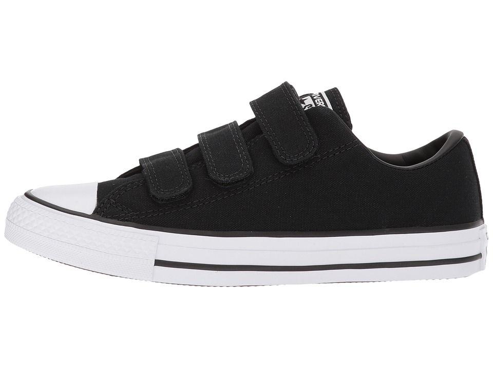 e77496c6c6ef Converse Chuck Taylor(r) All Star Canvas 3V Ox Women s Classic Shoes Black  Black White