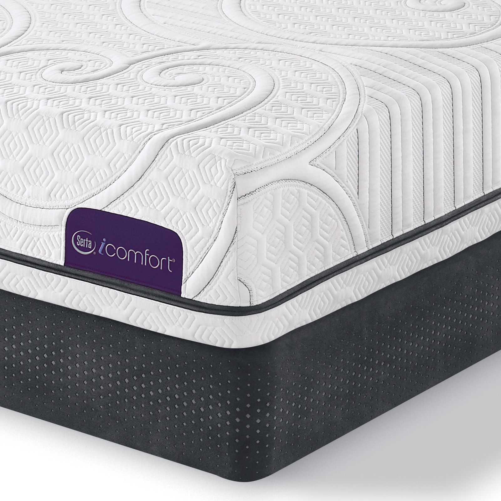 Serta Icomfort Serta Guidance Plush Tight Top Queen Mattress Off