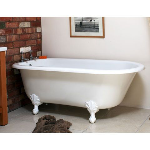 Albert Badewanne albert wessex freistehende badewanne mit weißen