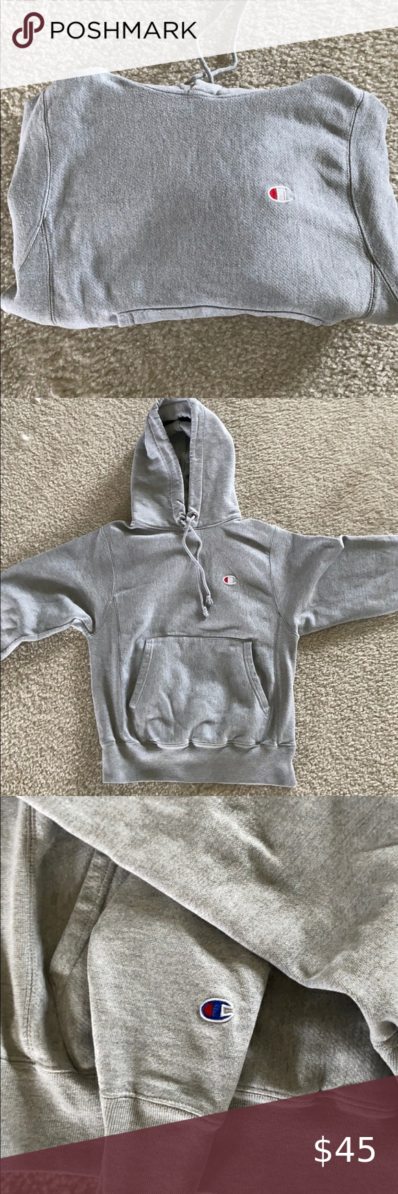 Grey Champion Hoodie Grey Champion Hoodie Fairly New Worn one or twice Champion Other #championhoodie Grey Champion Hoodie Grey Champion Hoodie Fairly New Worn one or twice Champion Other