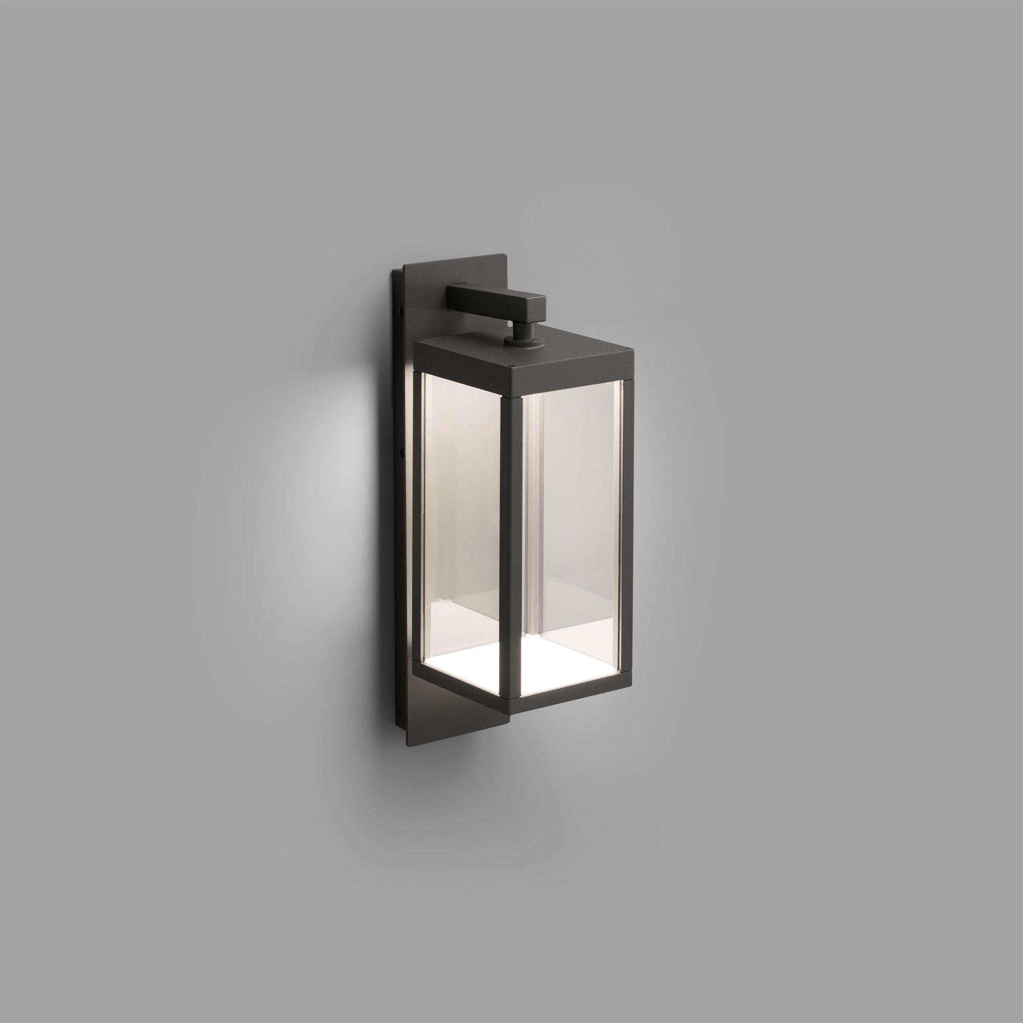 Outdoor Modern Wall Lantern Porch Patio OutSide Light Garden Sensor Contemporary