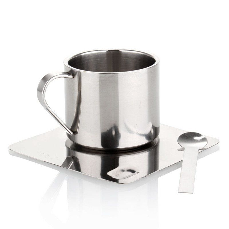 150ml stainless steel coffee mugs and tea cups high