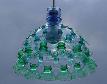 Manualidades con material reciclado con botellas
