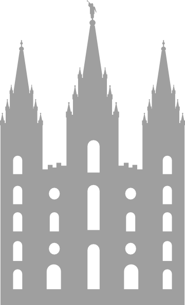 Salt Lake City Temple Clip Art At Clker Com Vector Clip Art