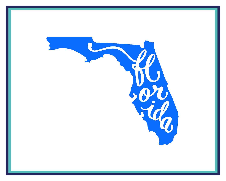 Florida Car Decal Laptop Decal Window Decal State Of Florida Decal Florida Sticker Yeti Decal Florida Home Stat Yeti Decals Car Decals Laptop Decal [ 1200 x 1500 Pixel ]