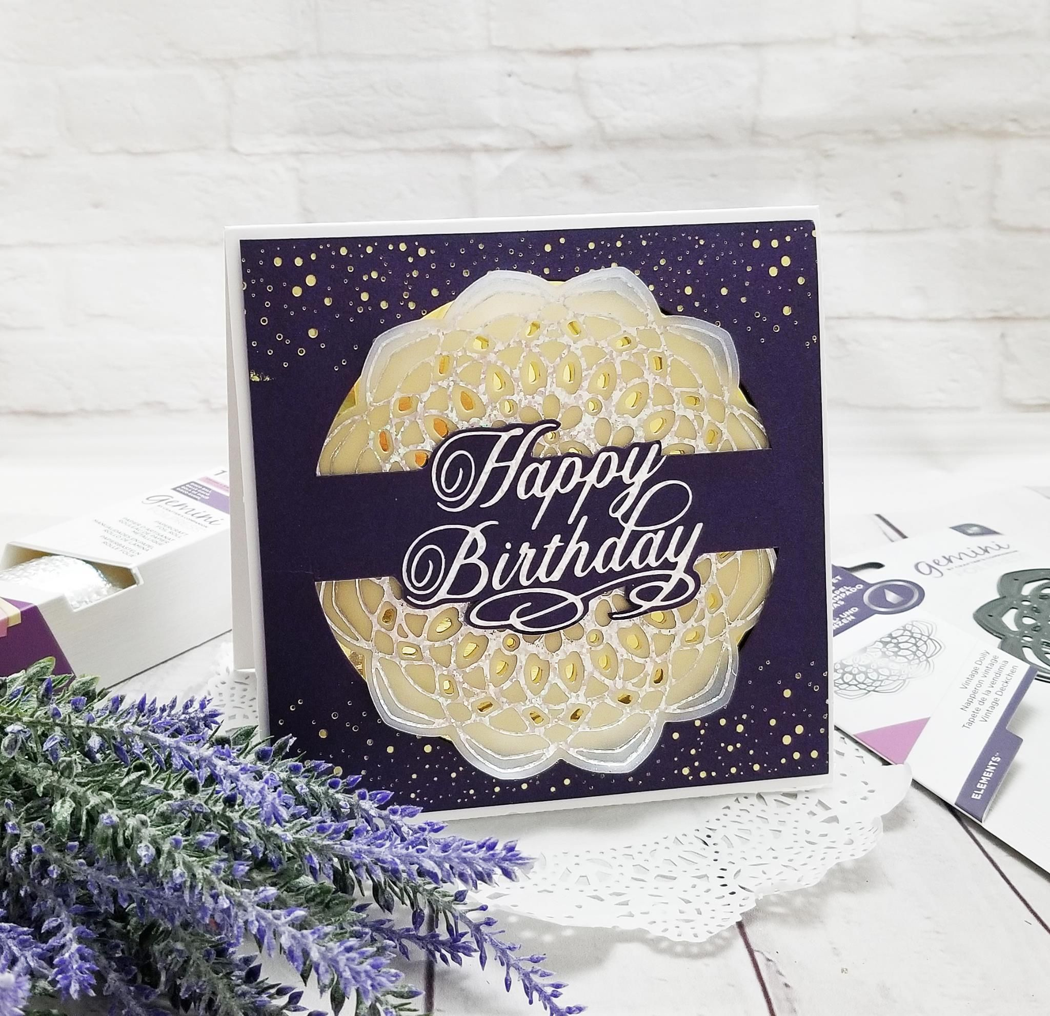 Thank You Expressions Crafter/'s Companion Gemini Hot Foil Stamp Die