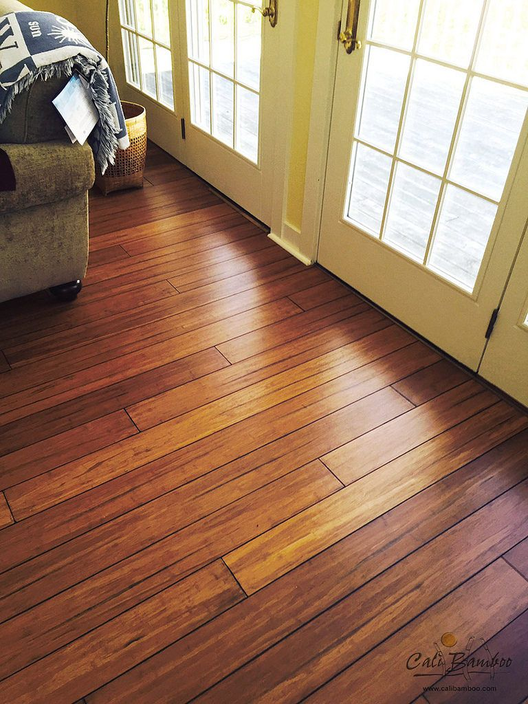 Distressed Wood Floors Golden Amber And Aged To Perfection Mocha Cali Bamboo