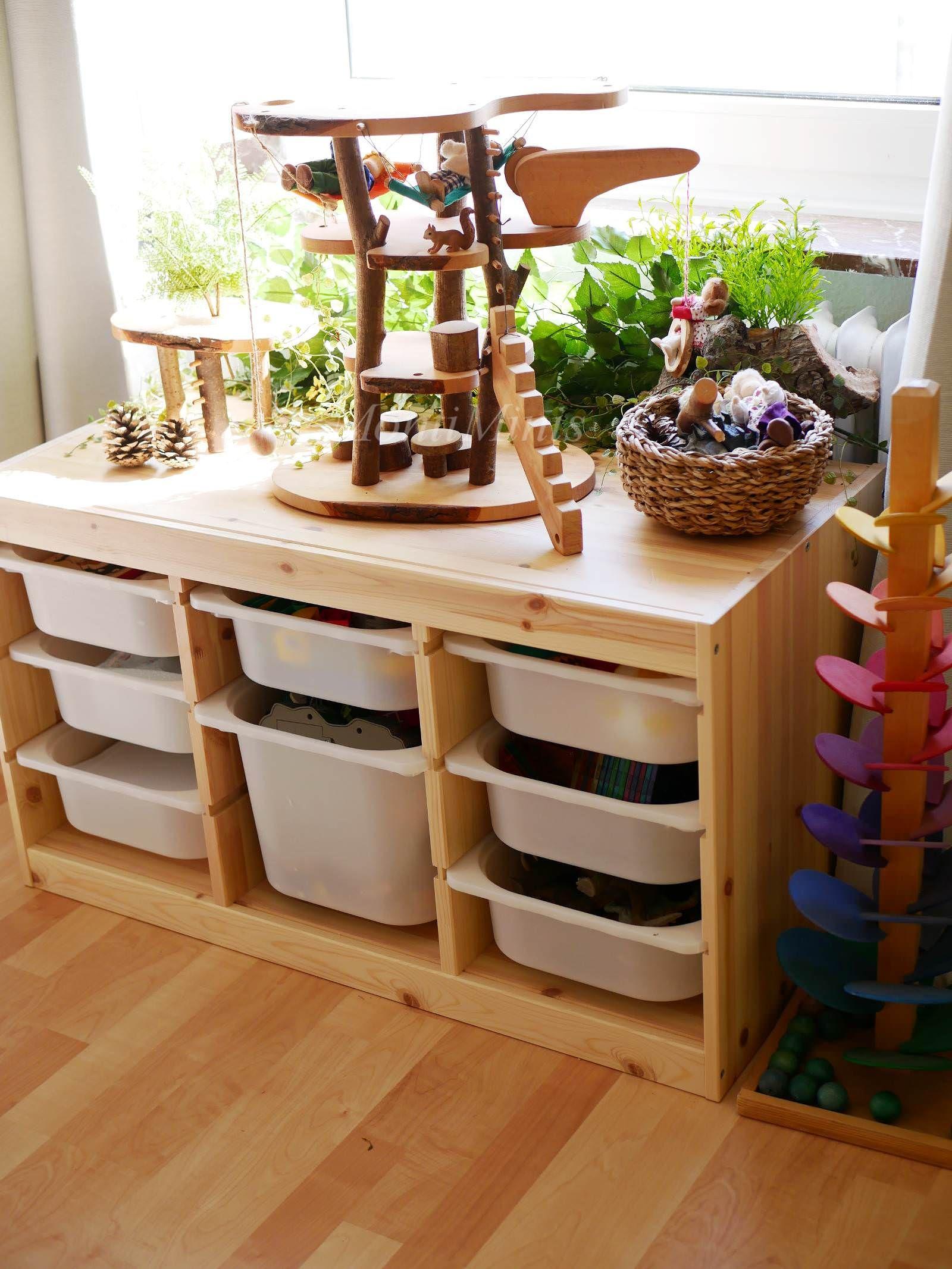 Michels Kinderzimmer mit 2,5 Jahren - Montessori Blog - MontiMinis #kitaräume